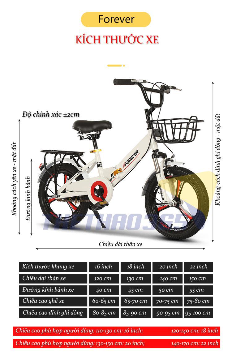 Xe đạp trẻ em nữ